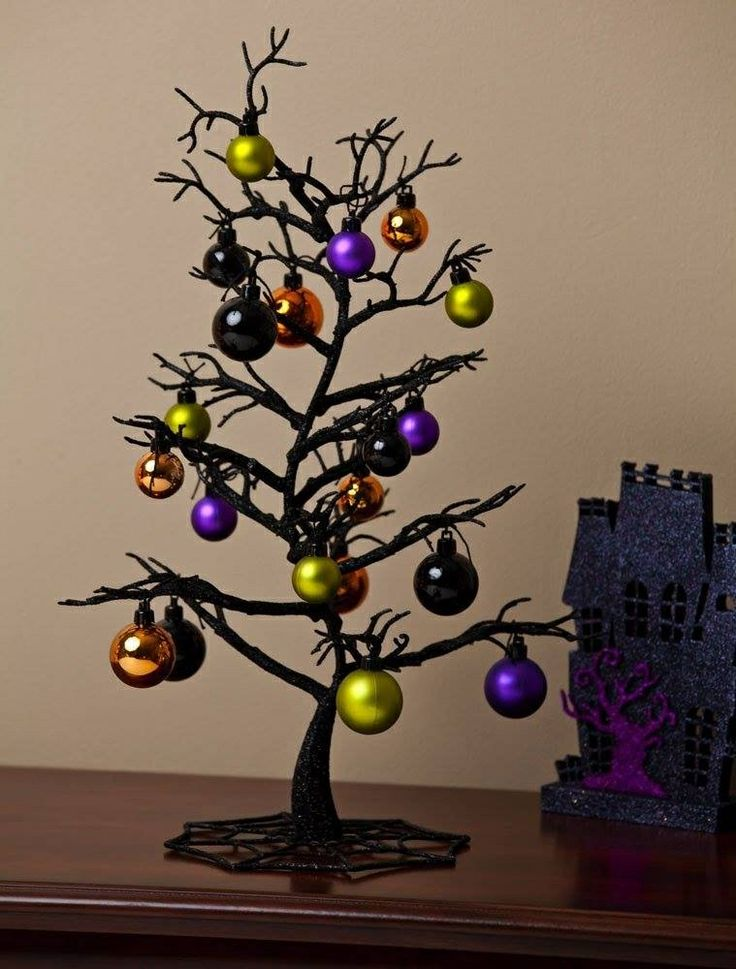take a look at this halloween tree figurine ornament set by cypress home on today