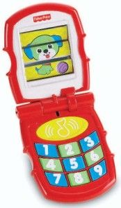 "Brilliant Basics Friendly Flip Phone Toddlers want to try everything they see their parents using. It responds to little fingers, says ""hello and goodbye. http://awsomegadgetsandtoysforgirlsandboys.com/fisher-price-toys-12-24-months/  Brilliant Basics Friendly Flip Phone"