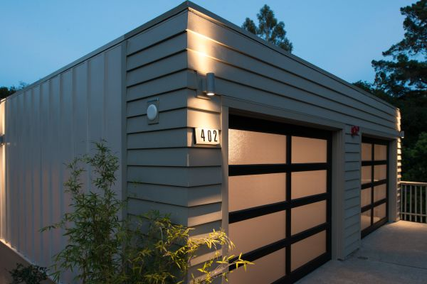 Artisan siding, mitered corners and deep shadow lines ...