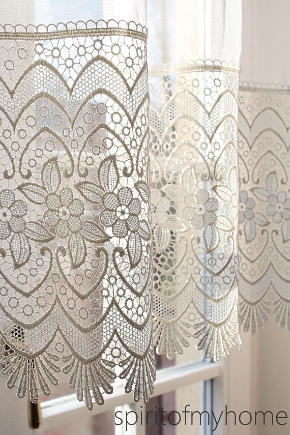 ANNEBELL' Macramé Lace French Shabby Chic Applicated Lace