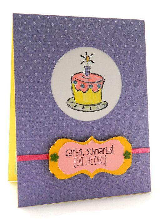 Snarky Birthday Cards  Funny Happy Birthday Card  by DesignsByCnC