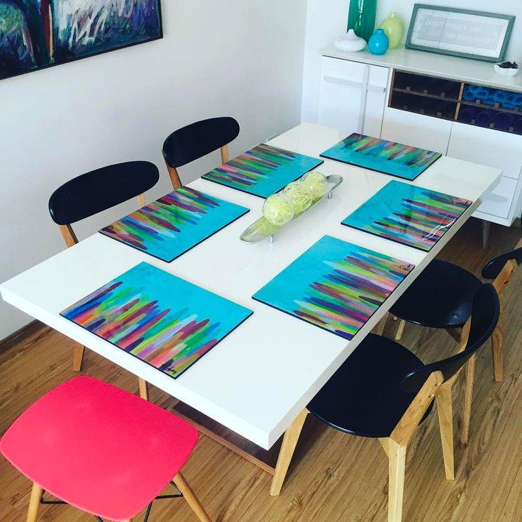 Un toque de vida y arte para tu comedor @ruben3pa #individuales #resina #artresin #resinart #originales #unicapieza #artresin #arte #art #abstracto #abstract #acrílico #acryllic #acryllicpaint #arteabstracta #artabstract #abstractpainting #abstractpainter #espátula #spatula #pintando #painting #pintura #colores #colors #originalart #gallery #galeria #rubenarte #ruben3pa @ruben3pa