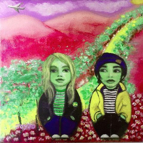 Geordie+Miki at Halloween