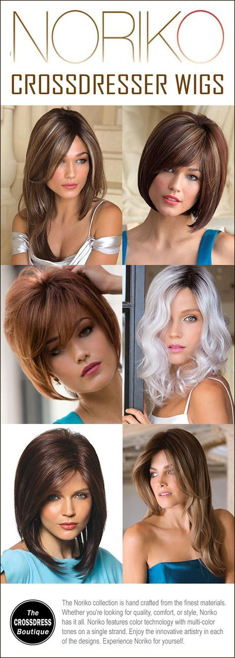 The Noriko Crossdresser Wig Collection: Lots of natural looking wig styles at affordable prices. See here: http://www.crossdressboutique.com/all/noriko-wig-collection/