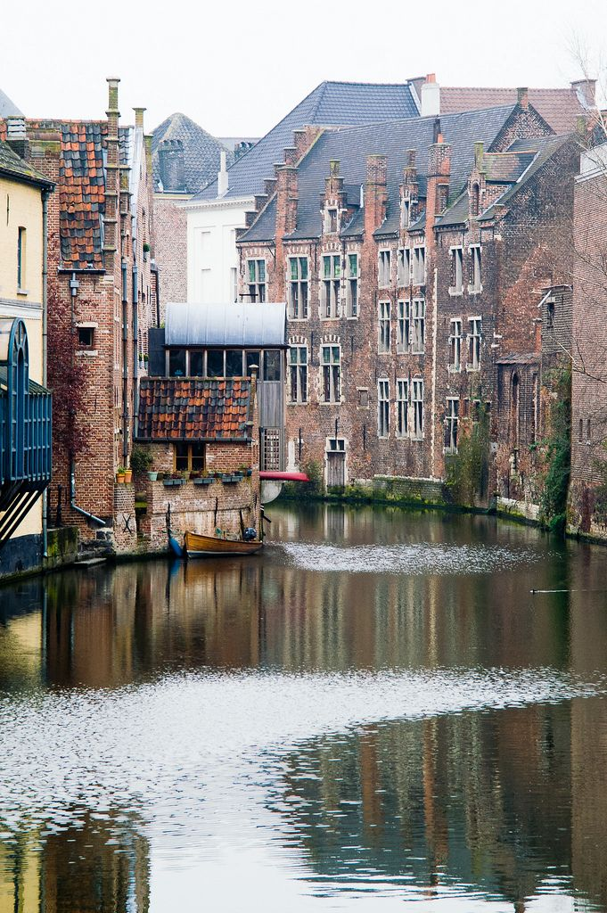 Ghent - visited with my pals from work on Comenius trip. Fab place!