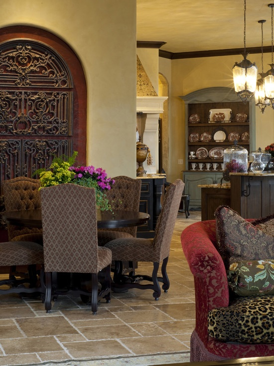 1000 images about old world dining room on pinterest for Tuscan dining room ideas