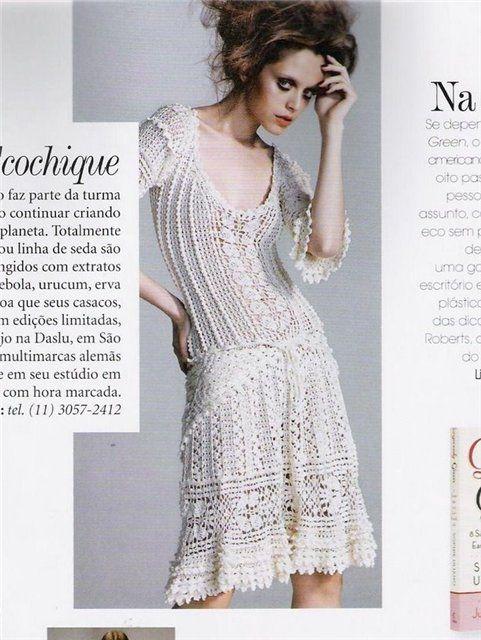 Шарлотта платье Ванессы Монторо с подробными схемами