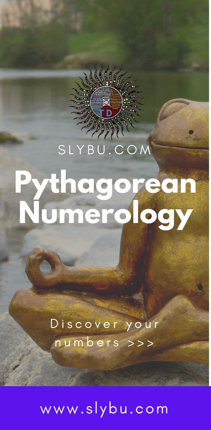 Pythagorean Numerology  Number Meaning With Chart