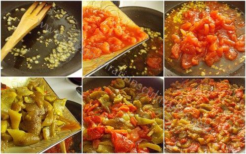 recette Hmisse, hmiss, salade mechouia Hmiss ou mechouia, une salade algérienne à base de poivr...