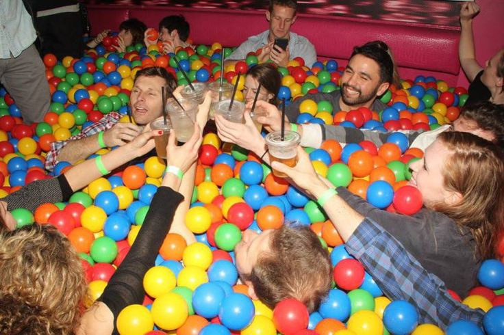 A giant Prosecco ball pit is going on tour around the UK