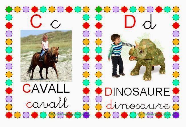 Resultat d'imatges de abecedari d'animals en català