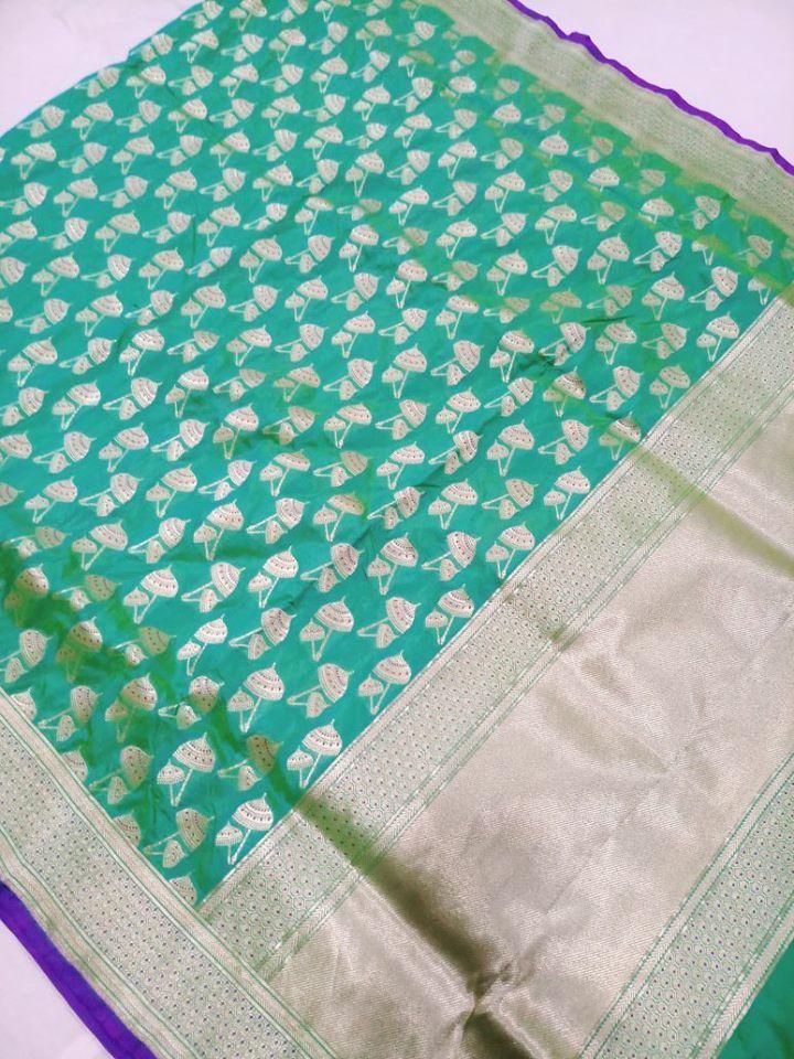 Banarasi silk Cost : 16000 Whatsapp: 7019277192