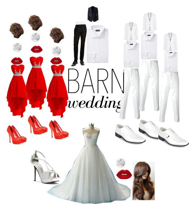 """Barn Wedding"" by danielle062504 ❤ liked on Polyvore featuring Dolce&Gabbana, Lime Crime, L'Oréal Paris, Neil Barrett, Vance Co., Giorgio Armani, BLACK BROWN 1826, Lands' End, Touch Ups and bestdressedguest"