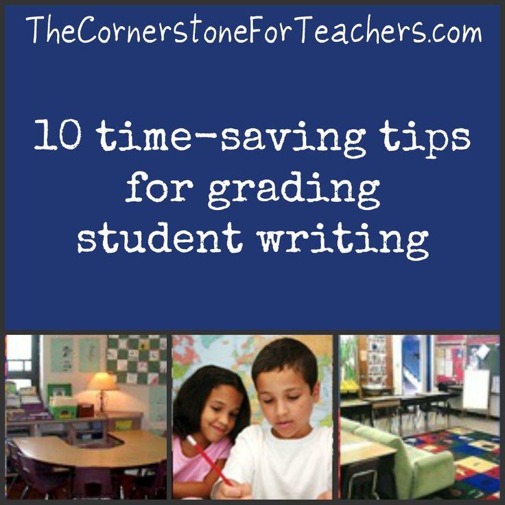10 time-saving tips for grading student writing