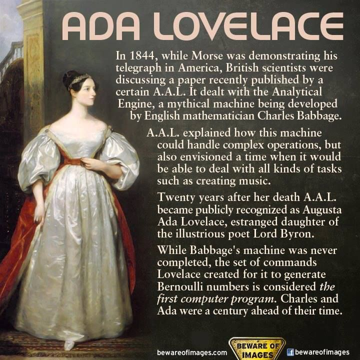 32 best images about Ada Lovelace on Pinterest