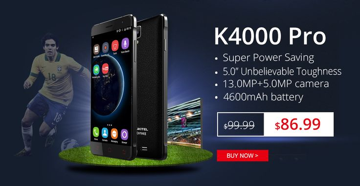 OUKITEL K4000 Pro flash sale on everbuying, only $86.99