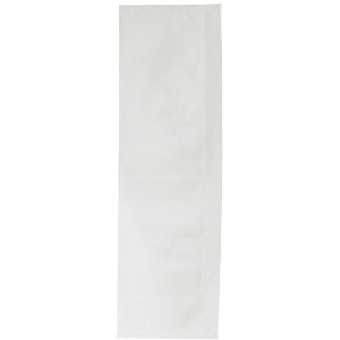 plain off-white linen table runner