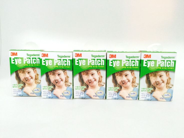 3M Tegaderm Orthoptic Eye Patch 5Box 100pcs    #3M