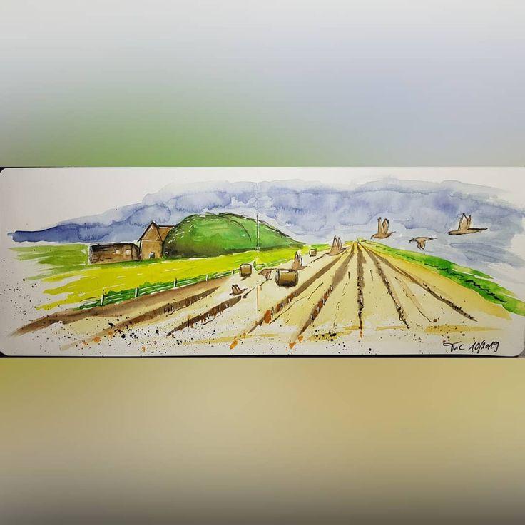 No.107 inspiration @jenshuebner 😊 #tccmalerei #malen #zeichnen #zeichnung #aquarellepainting