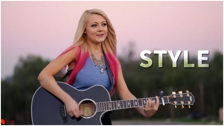 Taylor Swift -  Style (Acoustic Cover by Alexi Blue) - Official Music Video