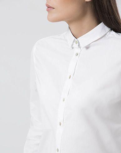 Camisa de Mujer Courtney Punto Blanco