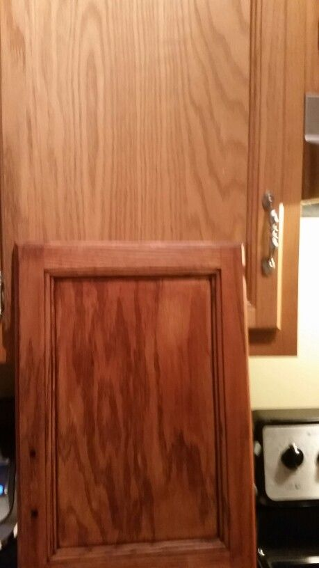 Mahogany Brown Paint On Cabinets