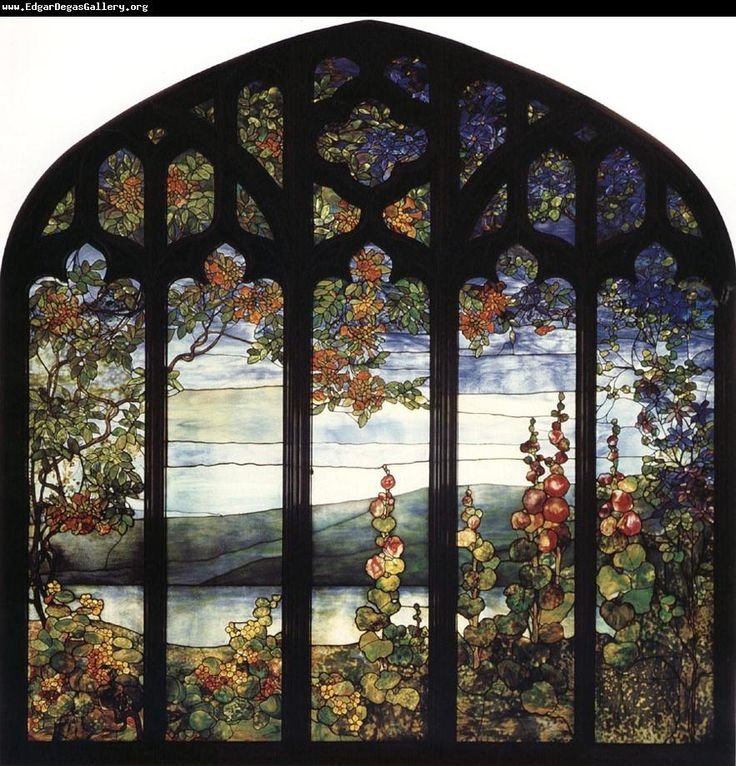 Stained Glass ~ Louis Comfort Tiffany