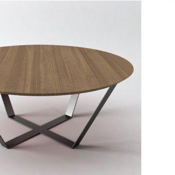 25 beste idee n over ronde salontafels op pinterest for Salontafel rond design