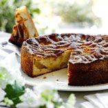 Lækker og hurtigt lavet æblekage - Opskrifter    http://www.dansukker.dk/dk/opskrifter/laekker-og-hurtigt-lavet-aeblekage.aspx  #æble #kage #sommer #dansukker #opskrift