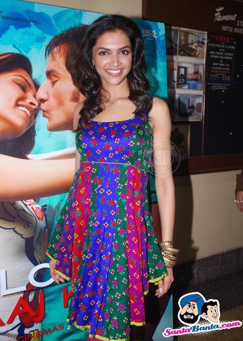 Love Aaj Kal Music Launch - Deepika Padukone Photo - 93705
