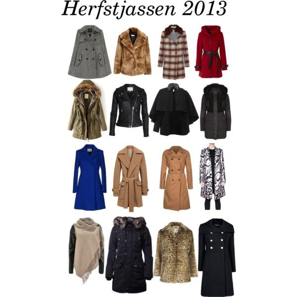 """Herfst jassen 2013"" by jj-van-gemert on Polyvore"