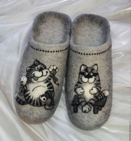 Обувь ручной работы. Ярмарка Мастеров - ручная работа. Купить Кошачья парочка))…