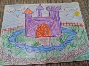 The castle. Goal: To help children think and talk about their own relationships, boundaries and defenses.