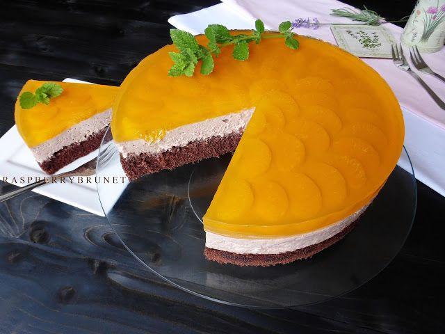 Raspberrybrunette: Čokoládová torta s mandaríkovým želé