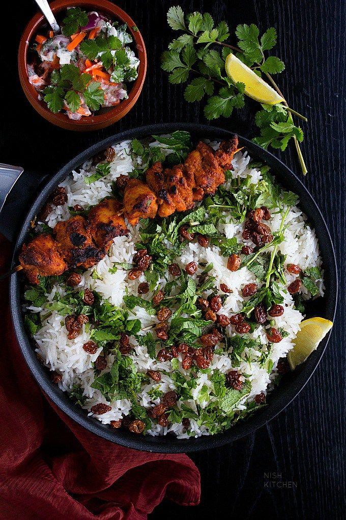 Chicken Tikka Biryani Video Recipe Indian Food And Culture