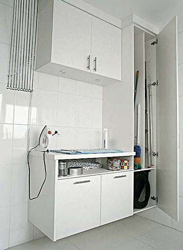 Três lavanderias de apartamento - Casa