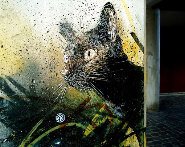 C215, Christian Guémy, primarily uses stencils to produce his art. His work consists mainly of close up portraits of people such as beggars, homeless people, refugees, street kids and the elderly.