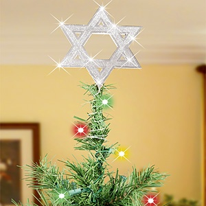 Star Of David Christmas Tree Topper