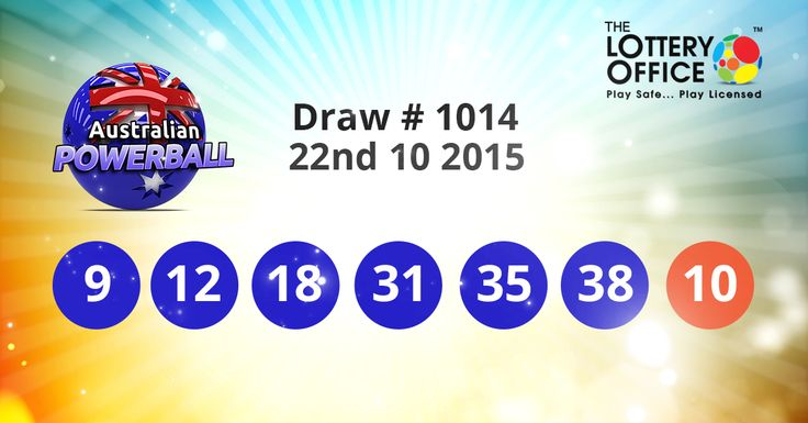 OMG Now I GET IT Aus Powerball winning numbers result is here: #LotteryResults #LotteryOffice