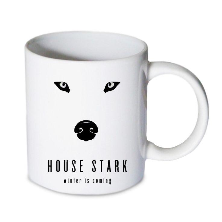 Coffee mug - House Stark Winter is coming stark Mug - Custom Coffee mug - Ceramic mug by babydragonshop on Etsy  #mug #harry #potter #mugs #cups #coffee #tea #hot #sublimation #quote #gift #birthday #custom #lyric #band #mom #sister #men #women #11oz #Ceramic #white #belcher #burger #yonce #beyonce #jon #snow #hogwart