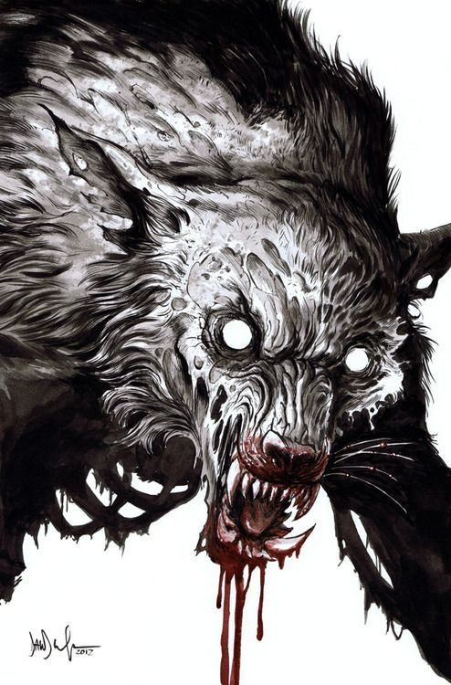 Tumblr Awesome. Zombie Werewolf. | Illustration and Art | Pint…
