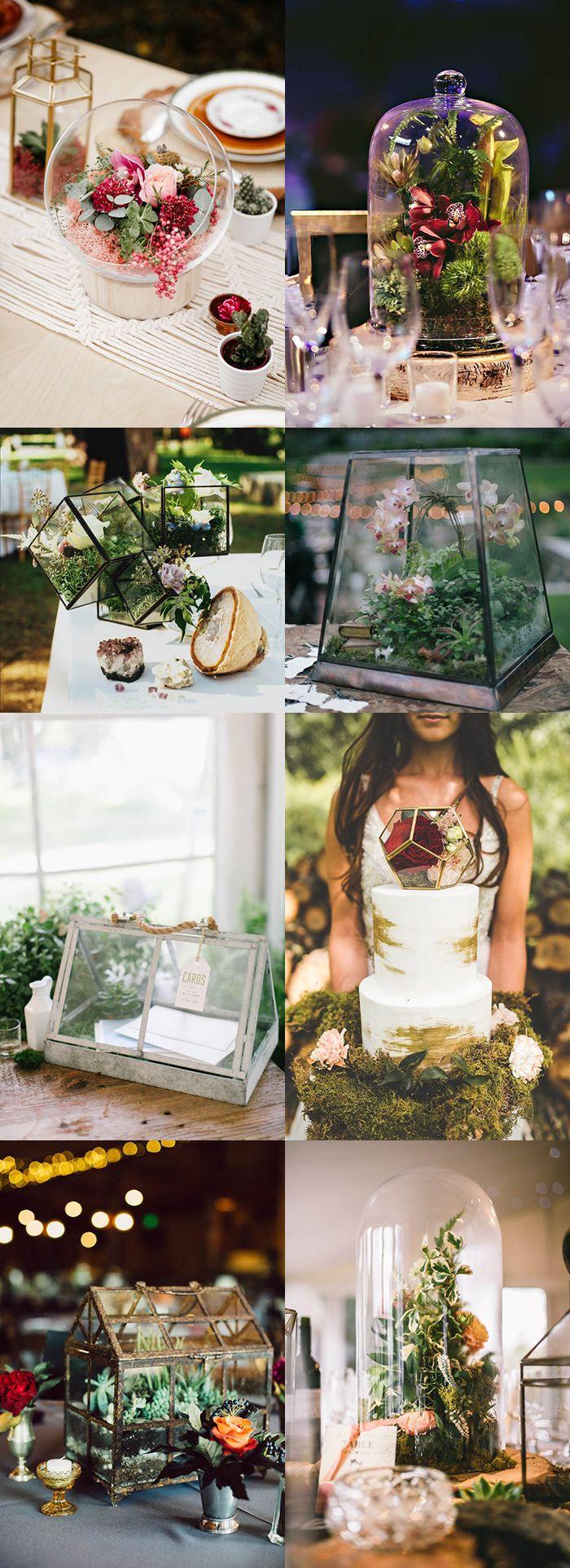 best terrarium wedding images on pinterest geometric wedding