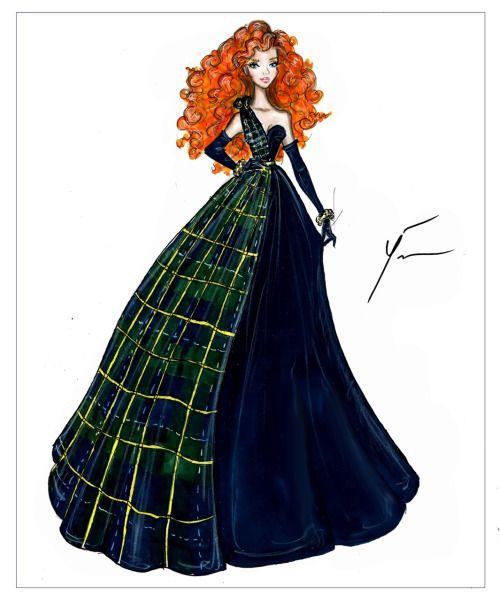 Disney Princesses 'Merida' by Yigit Ozcakmak
