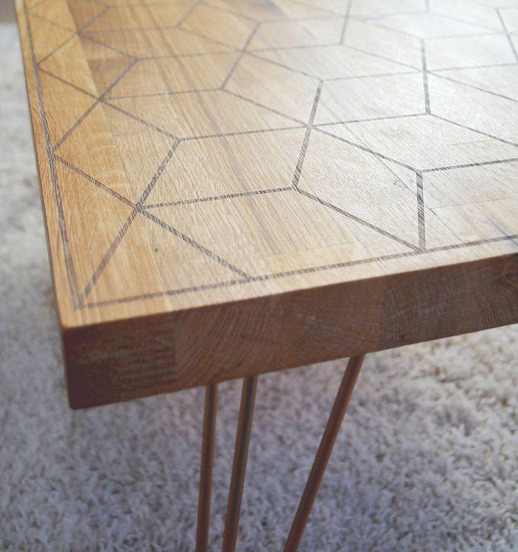 Geometric Oak And Copper Coffee Table - 25+ Best Ideas About Copper Coffee Table On Pinterest Diy Table