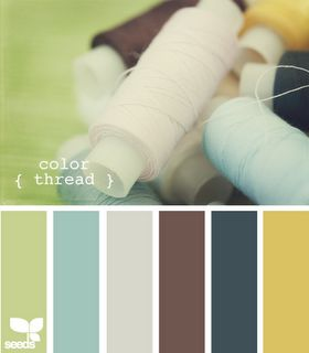 .Living Room, Family Room, Masculine Office (avocado, steel gray, chocolate brown, goldenrod, Powder Blue, Midnight Blue) - All the colors I need.