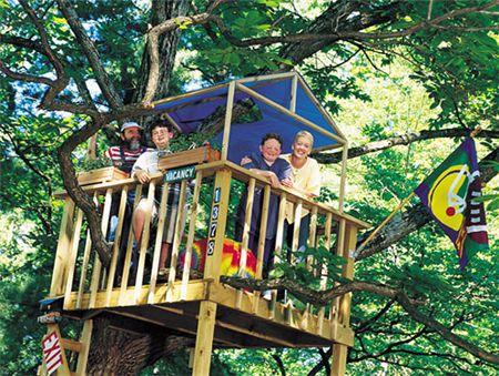 Easy Treehouse Designs For Kids