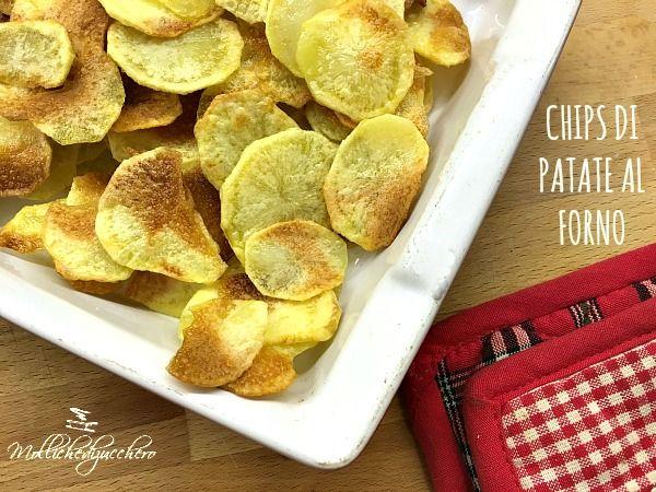 Le chips di patate al forno sono l'equivalente delle classiche patatine fritte in busta, ma molto più sane e genuine perchè, appunto, cotte in forno. Da tempo avevo voglia di provare a realizzarle, ma avevo laRead more...