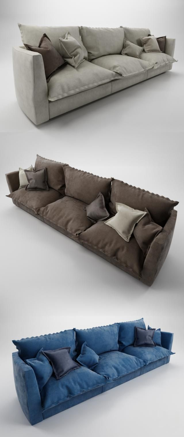 Good Baxter Brest Sofa (three Seater) Awesome Design