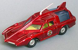 Captain Scarlet's car (Dinky). Indestructible. Still got it.