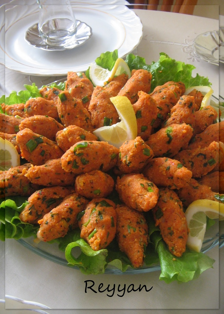 mercimekli köfte- kofte made of red lentil